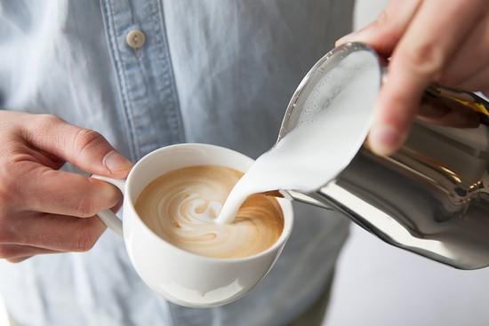 растворимый кофе с молоком