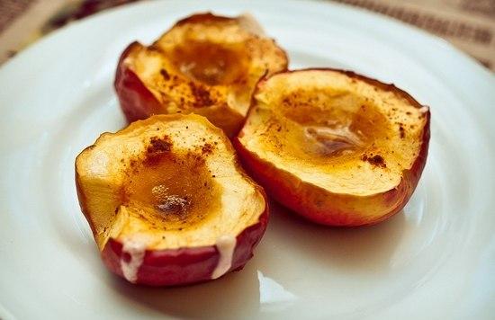 печени, то для нее польза печеных яблок