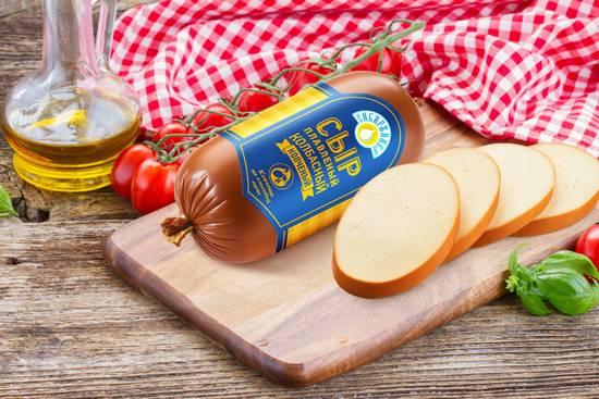 Колбасный сыр: польза и вред