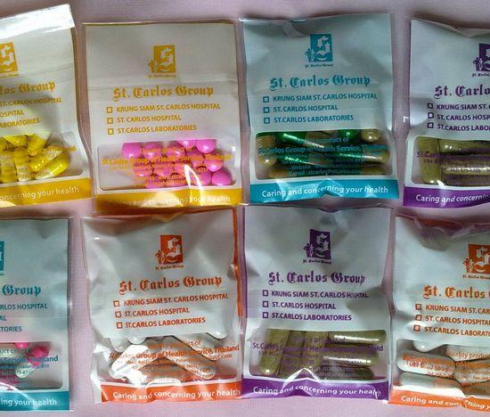 Полезные свойства тайских таблеток