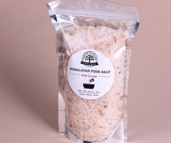 Розовая гималайская соль: состав, польза, вред, применение
