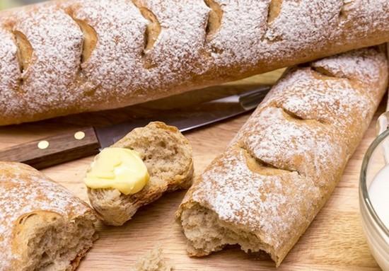 Как ввести отрубной хлеб в меню?