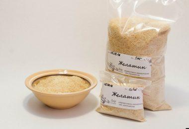 В чем польза пищевого желатина?