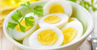 Вареные яйца: польза и вред (для мужчин)