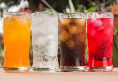 Вред газированных напитков на организм человека