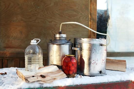 Особенности очистки самогона